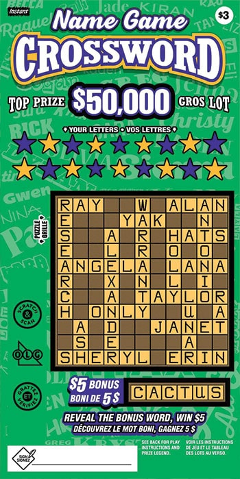 box betting game crossword