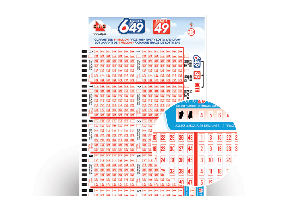 6/49 Lotto Numbers