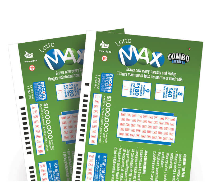 Lotto Max Combo Play