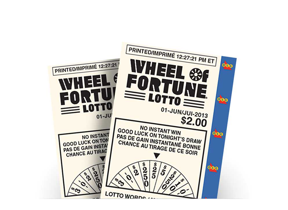 WHEEL OF FORTUNE® LOTTO tickets