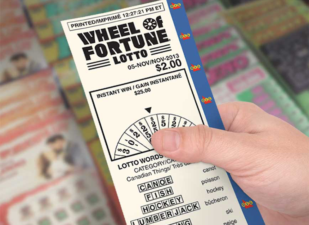 Buy WHEEL OF FORTUNE® LOTTO ticket